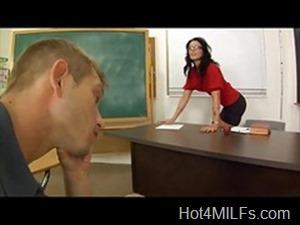 Hot MILF teacher
